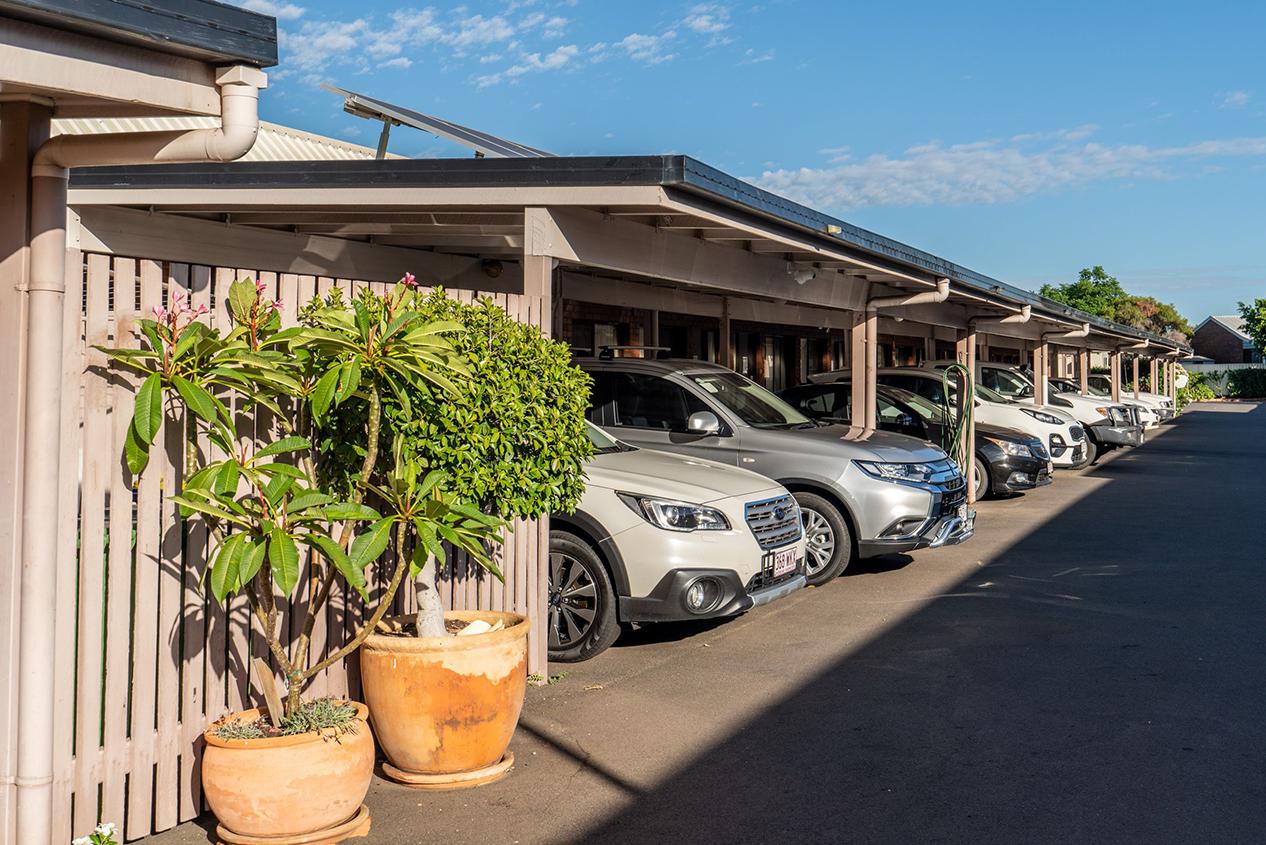 motel facilities